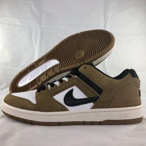 Nike SB Air Force II Low Escape Lichen Brown White